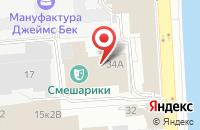 Схема проезда до компании Умная Маша в Санкт-Петербурге