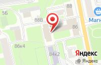 Схема проезда до компании Агроинформатика в Санкт-Петербурге