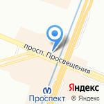 Дельта телеком на карте Санкт-Петербурга