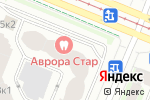 Схема проезда до компании Окна Трайпл в Санкт-Петербурге