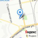 Детский сад №202 компенсирующего вида на карте Санкт-Петербурга