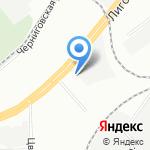 Лига Доставок на карте Санкт-Петербурга