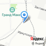 Мастерская порошковой окраски металлических изделий на карте Санкт-Петербурга