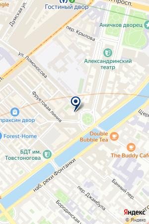 ОХРАННОЕ ПРЕДПРИЯТИЕ КАПИТАН на карте Ломоносова