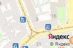 Схема проезда до компании Страшная Сила в Санкт-Петербурге