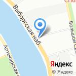 Госкапитал на карте Санкт-Петербурга
