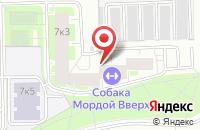 Схема проезда до компании Гемотест в Санкт-Петербурге