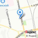 Адвокатская консультация №16 на карте Санкт-Петербурга