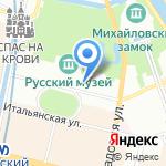 Детский этнографический центр на карте Санкт-Петербурга
