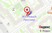 Схема проезда до компании Автоблиц в Санкт-Петербурге