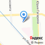 Женская консультация №5 на карте Санкт-Петербурга