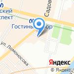 Инспекция на карте Санкт-Петербурга
