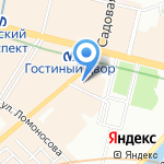 Игровед на карте Санкт-Петербурга
