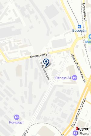 РЕМОНТНО-СТРОИТЕЛЬНАЯ ФИРМА М-СТРОЙ на карте Санкт-Петербурга