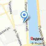 Пельменная на карте Санкт-Петербурга