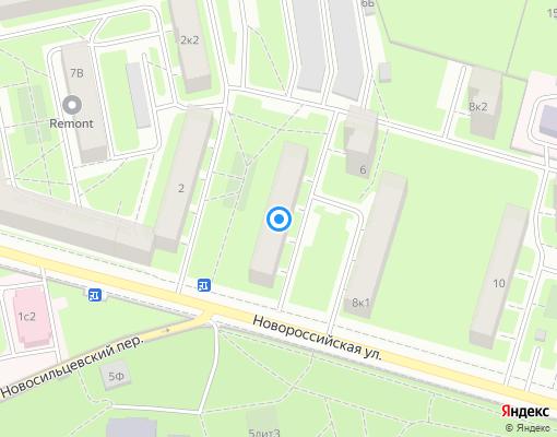 Жилищно-строительный кооператив «ЖСК №402» на карте Санкт-Петербурга