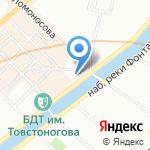 Palla на карте Санкт-Петербурга