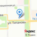 Христофор Тур на карте Санкт-Петербурга