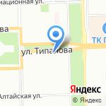 Магазин валенок на карте Санкт-Петербурга