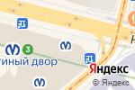 Схема проезда до компании Марсель в Санкт-Петербурге