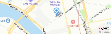 Авто Лайн Сервис на карте Санкт-Петербурга