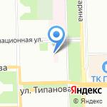 Городская больница №20 на карте Санкт-Петербурга