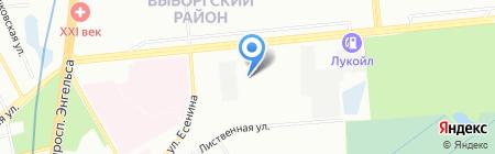 Альянс на карте Санкт-Петербурга