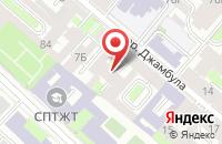 Схема проезда до компании Петербургская Гипотеза в Санкт-Петербурге