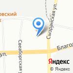 Логик на карте Санкт-Петербурга