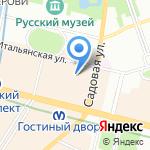 Vlerick на карте Санкт-Петербурга