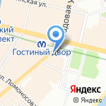 Книжный салон на карте Санкт-Петербурга