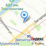 АМОС Сервис на карте Санкт-Петербурга