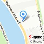 Первая Геотехническая Компания на карте Санкт-Петербурга