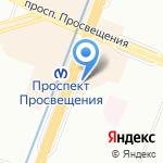 Али Баба на карте Санкт-Петербурга