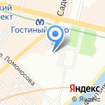 Россельхозбанк на карте Санкт-Петербурга
