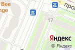 Схема проезда до компании ПроСвет в Санкт-Петербурге