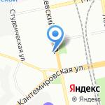 ТурМастерская на карте Санкт-Петербурга