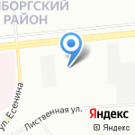 Кореана на карте Санкт-Петербурга