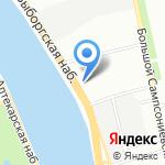 Северные газовые магистрали на карте Санкт-Петербурга