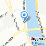 КБ Глобэксбанк на карте Санкт-Петербурга