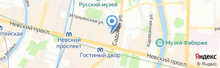 Банкомат КБ Ситибанк на карте Санкт-Петербурга