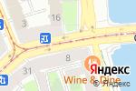 Схема проезда до компании Эрисиони в Санкт-Петербурге
