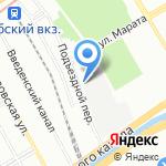 АКМЕОН на карте Санкт-Петербурга