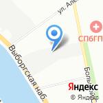 22Век на карте Санкт-Петербурга
