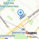 РАМИН на карте Санкт-Петербурга