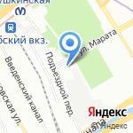 Институт Независимой Оценки на карте Санкт-Петербурга