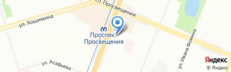 003 на карте Санкт-Петербурга