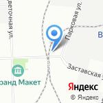 ВинСтар на карте Санкт-Петербурга