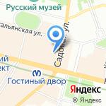Собиратель на карте Санкт-Петербурга