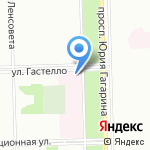 Городская поликлиника №42 на карте Санкт-Петербурга